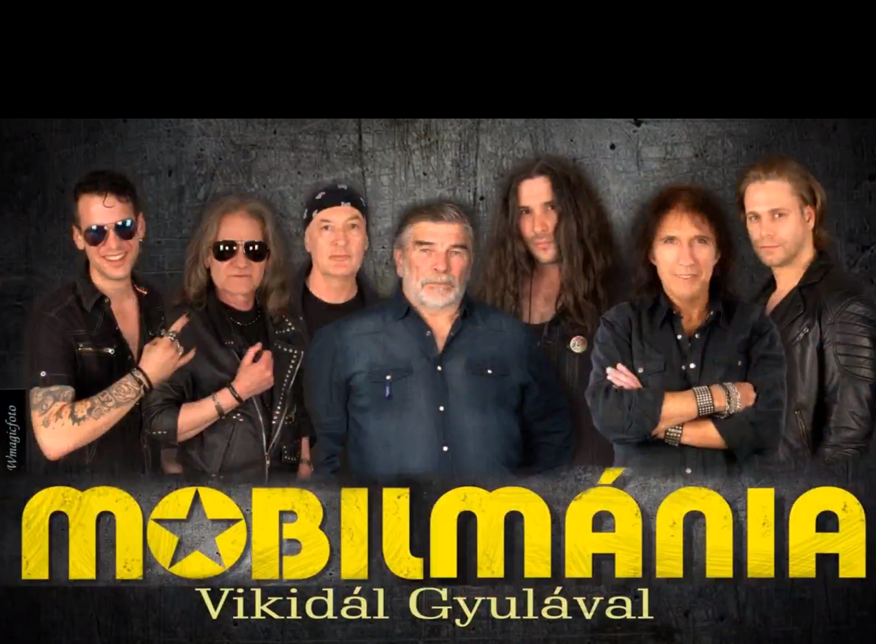Mobilmánia Vikidál Gyulával – ELHALASZTVA!!!