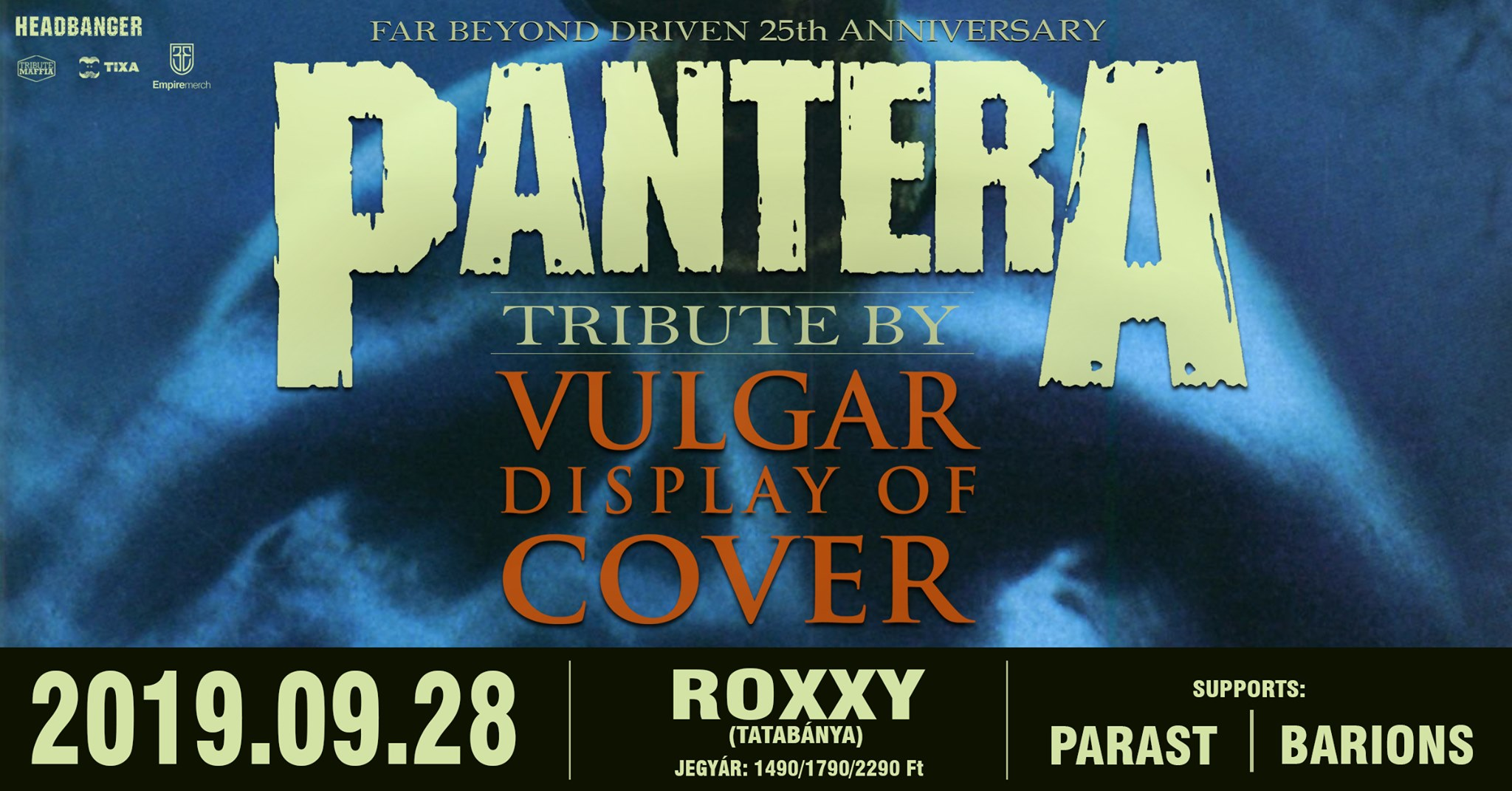 Vulgar Display of Cover